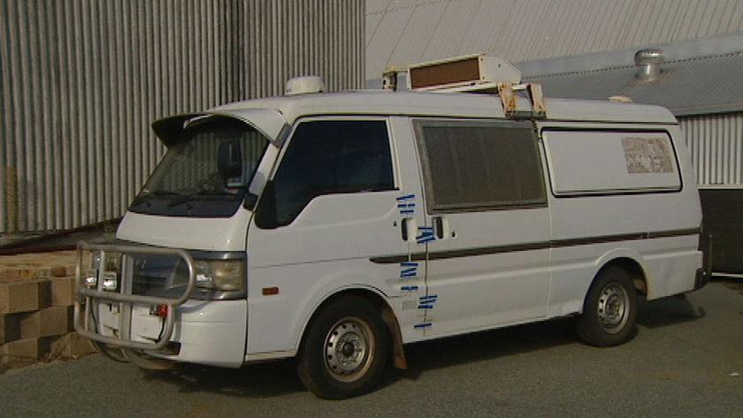 prisoner transport van Western Australia