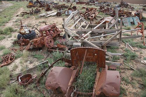 machine wrecks