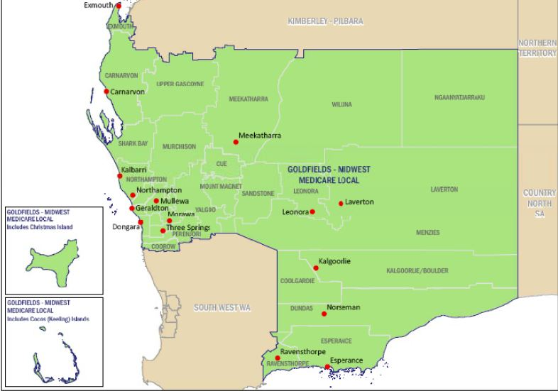 Goldfields-Midwest medicare local